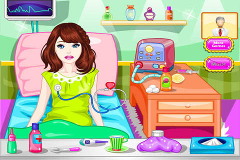 Sick Girl & Flu Girl - Treatment Game - náhled