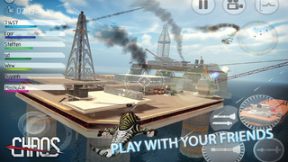 CHAOS Combat Copters -‐ #1 Multiplayer Helicopter Simulator 3D screenshot 1