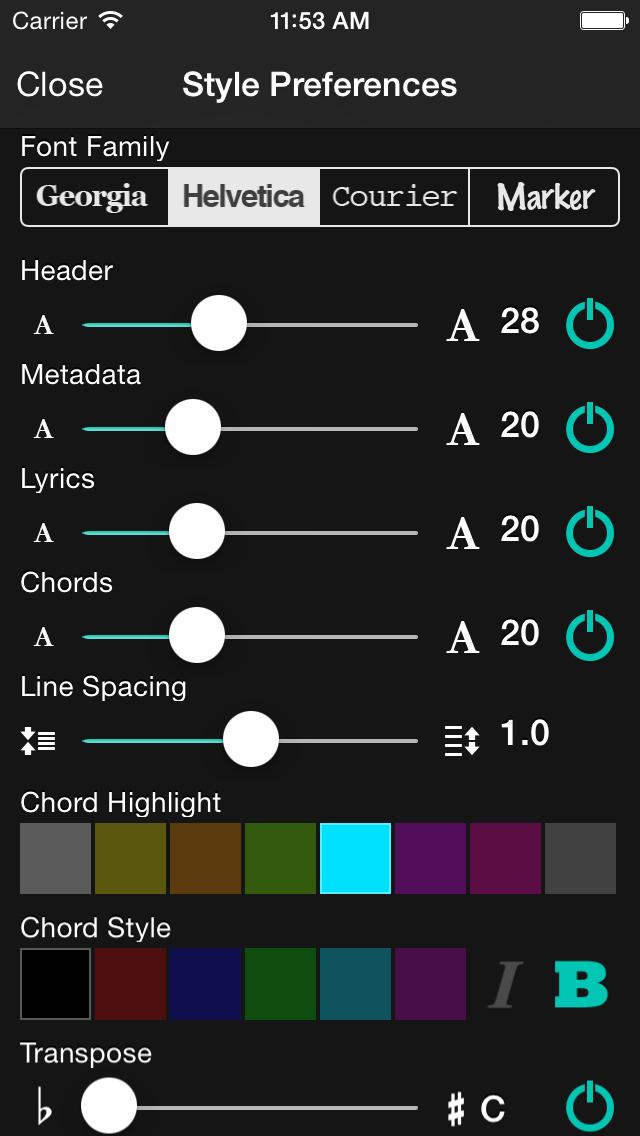 OnSong screenshot 3