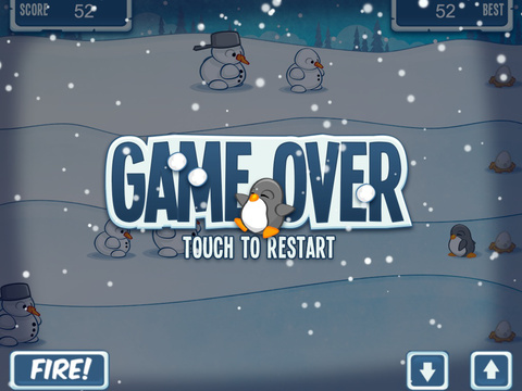 Snowmen Vs Penguin FREE screenshot 8