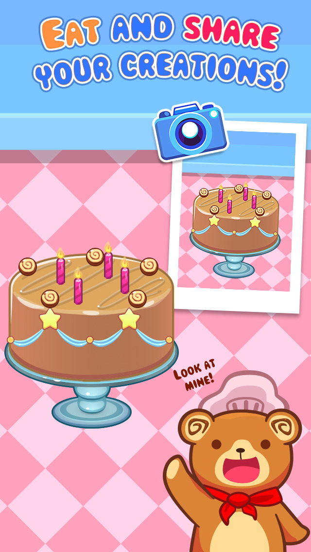 My Cake Maker - Create, Decorate and Eat Sweet Cakes screenshot #5