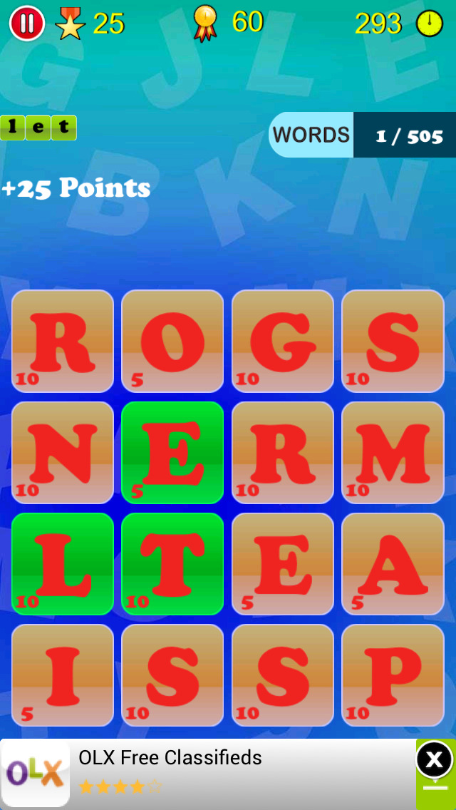 Words Mania screenshot 3