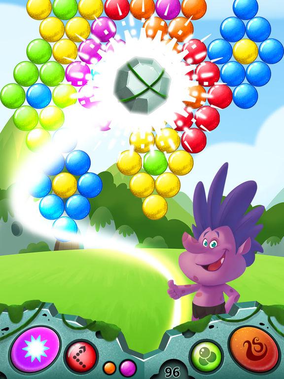 Bubble Shooter Gnomes - For Trolls screenshot 6