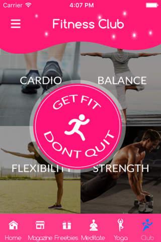 Simple home balance workout - náhled