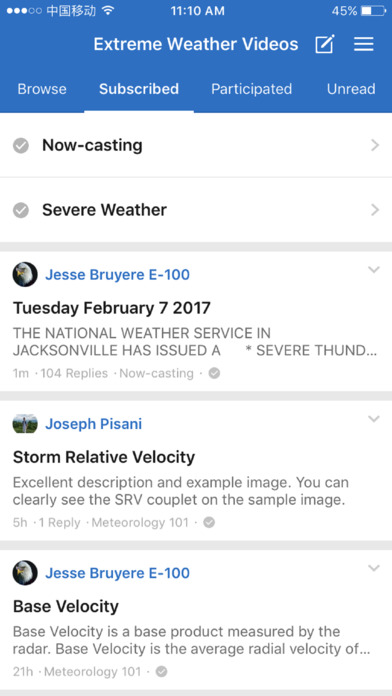 Extreme Weather Videos screenshot 3