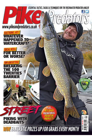 Pike and Predators Magazine - náhled