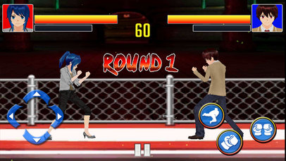 Man vs Women combo Fight screenshot 2
