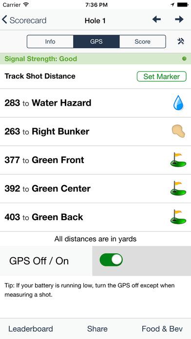 Redwoods Golf Course screenshot 5