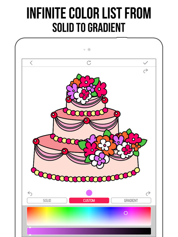 Fancy Coloring Books for Adults - Color book Apps screenshot 8