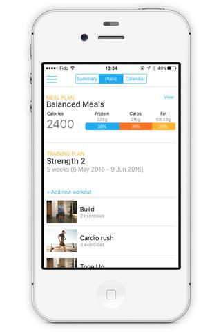 The FETTLE App - náhled