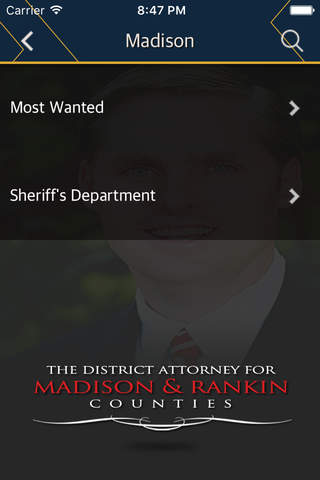 District Attorney for Madison and Rankin Counties - náhled