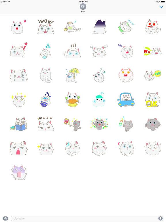 The Persian Cat Stickers screenshot 4