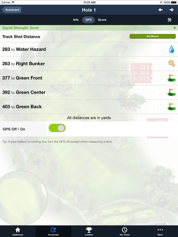 Bowling Green Golf Club screenshot 9