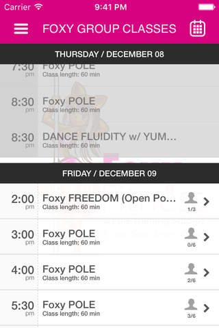 Foxy Fitness and Pole - náhled