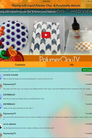 Create Along with Polymer Clay TV - náhled