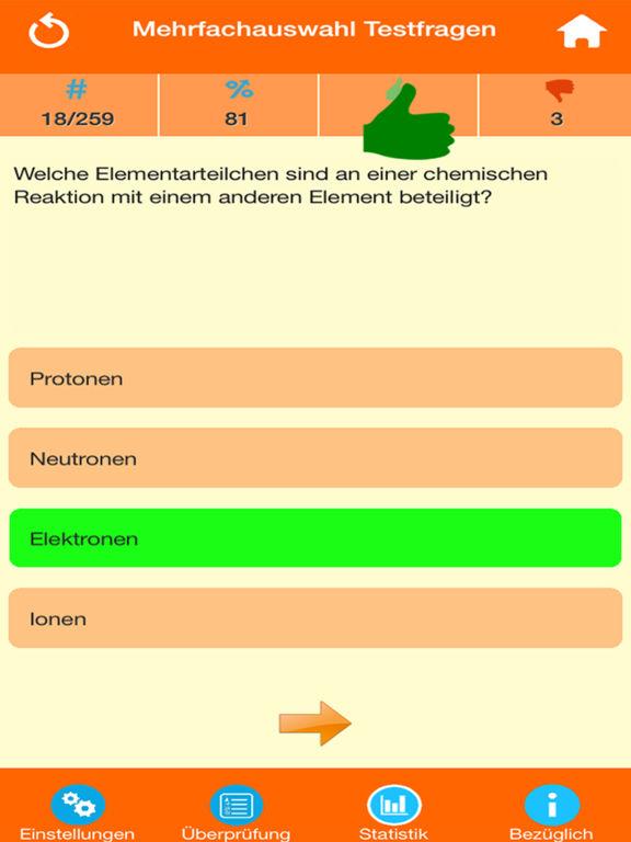 Der Chemie Quiz screenshot 7
