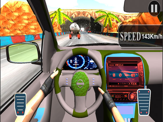 Asphalt Race in Car : A Dashboard view Drive 2017 screenshot 7