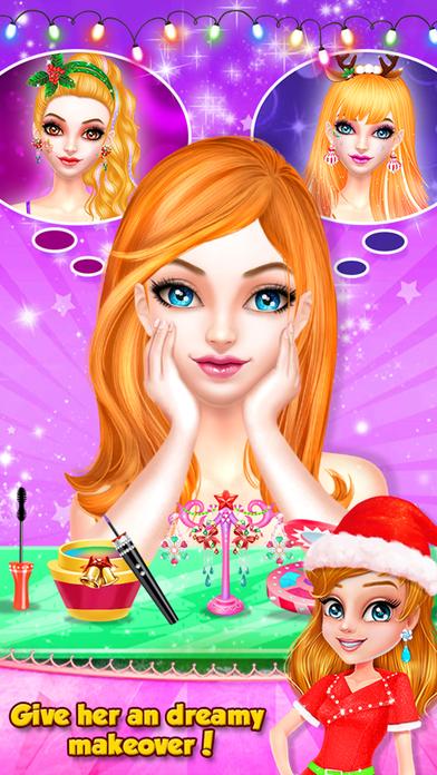 Christmas Girls Spa Salon screenshot 1