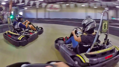 VR Go Cart Super Charged for Google Cardboard screenshot 2