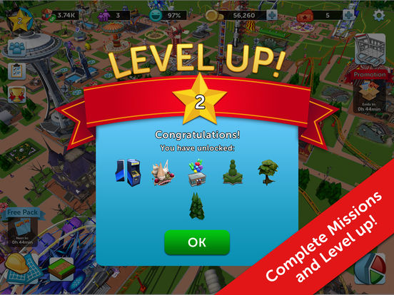 RollerCoaster Tycoon® Touch™ screenshot 10