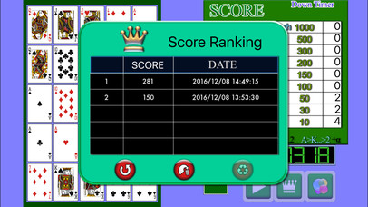 Poker Solitaire PVD screenshot 2