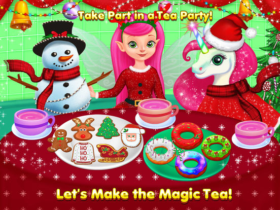 Fairies Christmas Kitchen & Fun screenshot 9