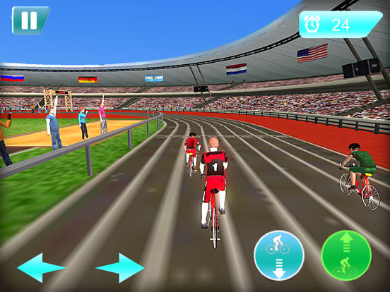 Stickman Cycling Race screenshot 8