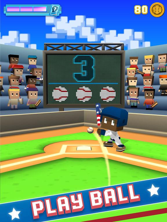 Blocky Baseball: Home Run Hero screenshot 6