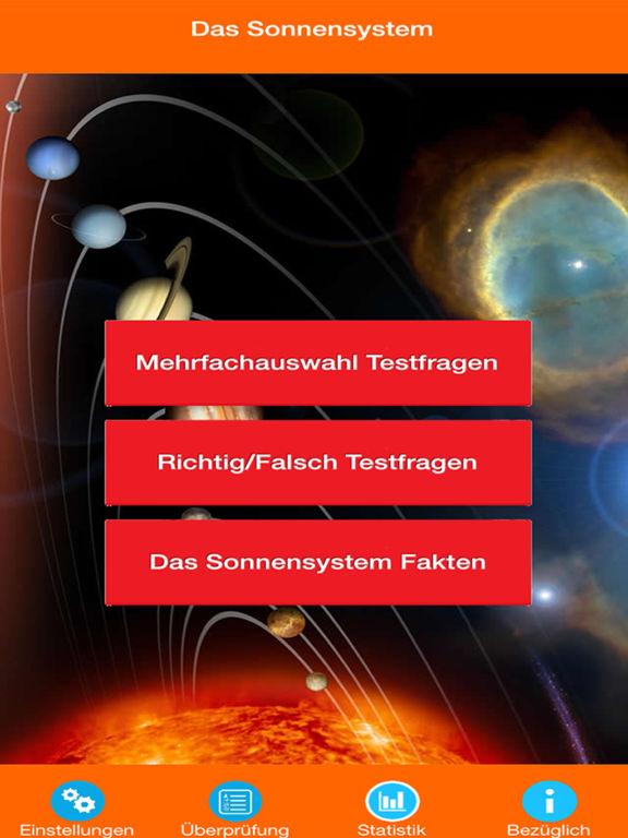 Das Sonnensystem Quiz screenshot 6