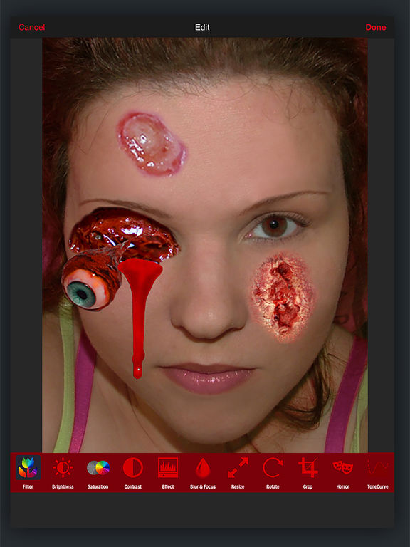Horror PHOTOLAB Gold screenshot 7