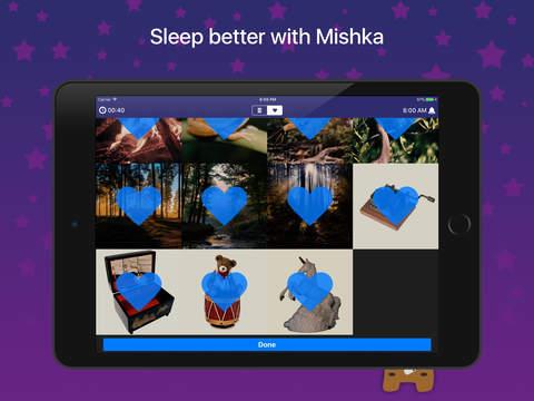 Mishka - sleep sounds for baby: lullabies,rain,fan - náhled