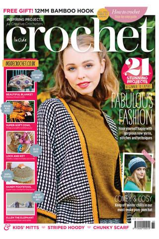 Inside Crochet Magazine - náhled