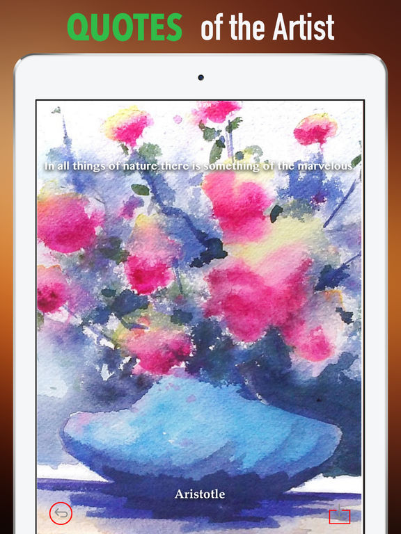 Watercolour Flowers Wallpapers HD- Quotes and Art screenshot 9