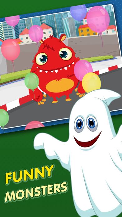 Monster Puzzle Games: Toddler Kids Learning Apps screenshot 2
