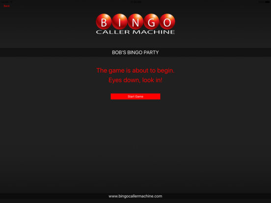 Bingo Caller Machine screenshot 8