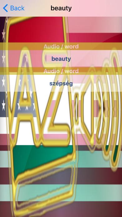 Hungarian Dictionary GoldEdition screenshot 5