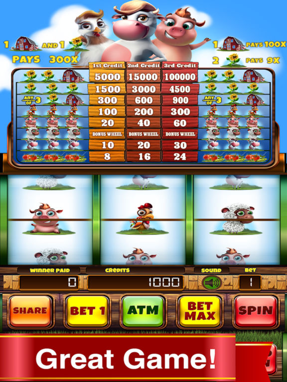 Farm Country Slots Pro Edition screenshot 2