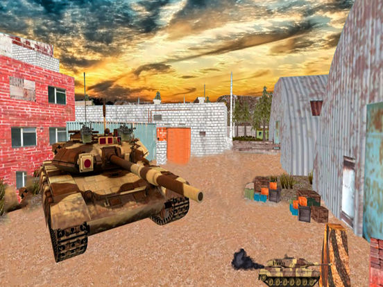 3D Tank War-fare Strike : New Mobile Combat Game-s screenshot 4
