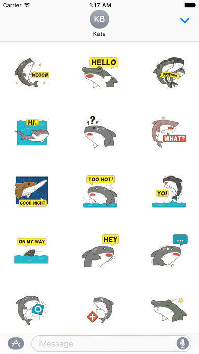 Sharks Stickers screenshot 1