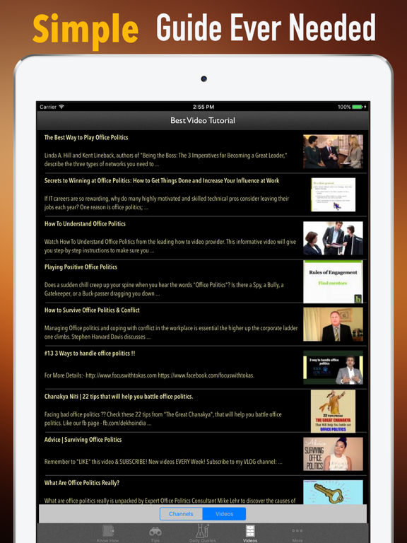 Office Politics Guide-HBR Strategic Tips screenshot 7