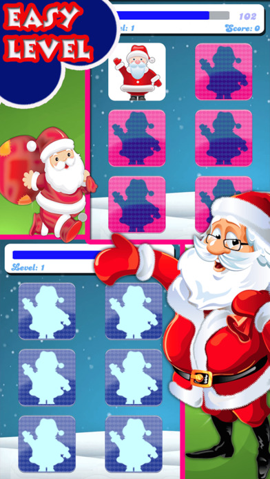 Christmas Matching Pairs - Santa Slaus and Xmas screenshot 4
