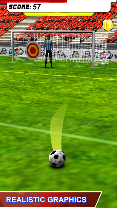 Football Penalty Shot screenshot 1
