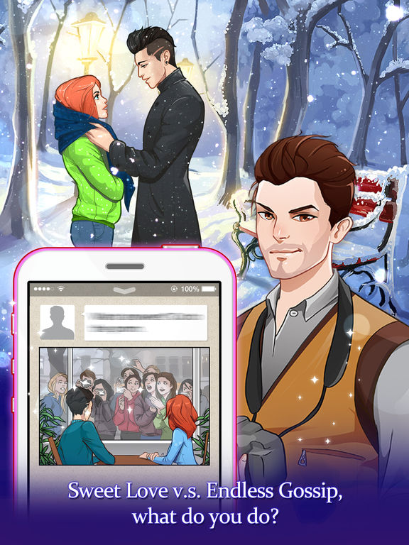Love Story- Free episode dating sim game for girls screenshot 9