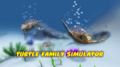 Turtle Family Simulator Full screenshot 1