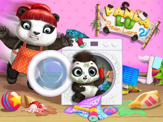 Panda Lu Baby Bear Care 2 - No Ads screenshot 7
