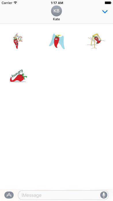Hot Chili Peppers Sticker screenshot 3