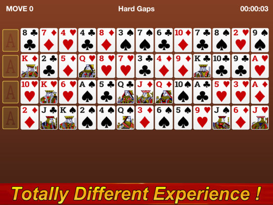 Gaps Solitaire screenshot 4