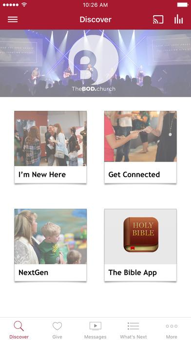 TheBOD.church screenshot 1
