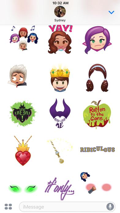Disney Stickers: Descendants screenshot 5