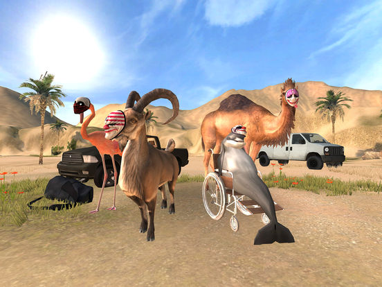 Goat Simulator PAYDAY screenshot 6